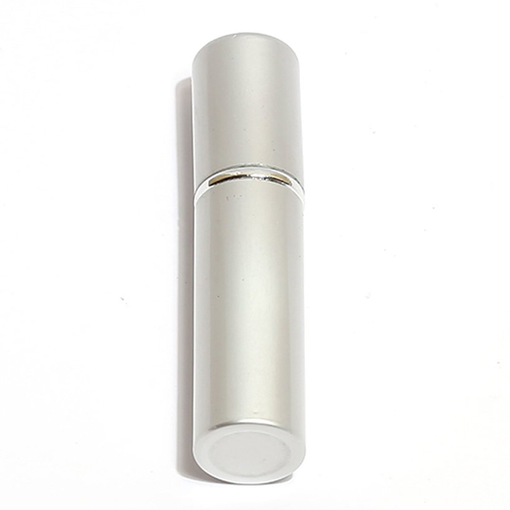 Best Sale Travel 5mL Refillable Aluminum Mini Perfume Bottle Atomizer Silver(China (Mainland))