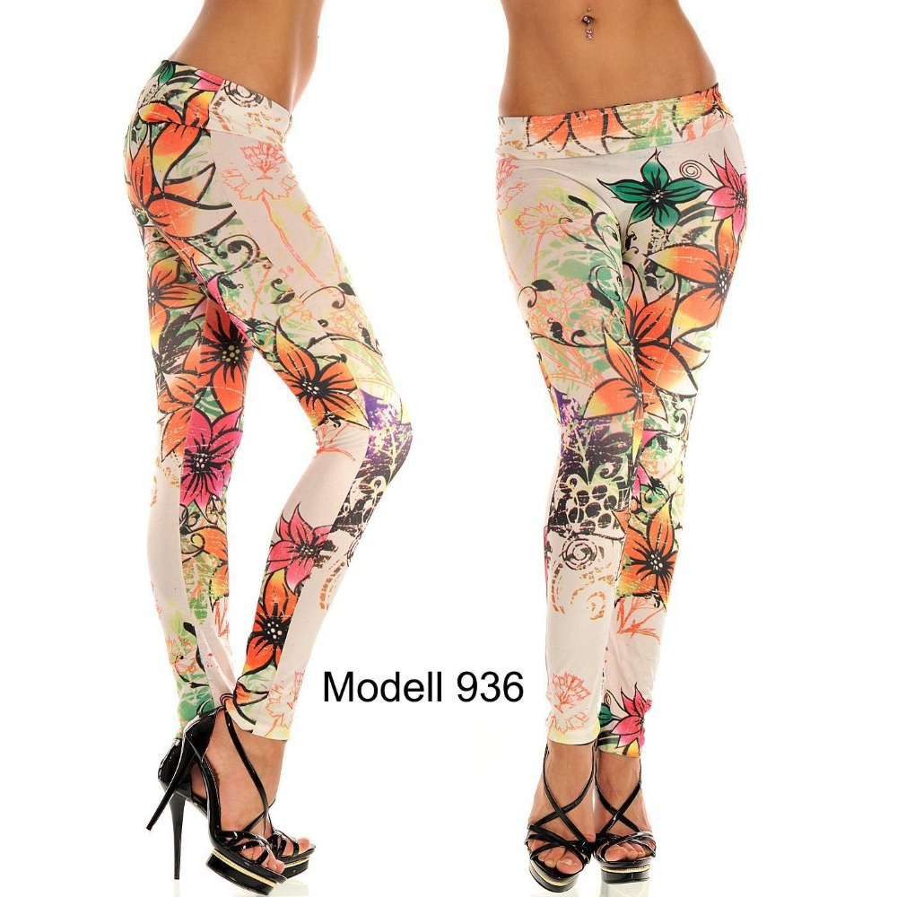 Yoga Pants With Designs