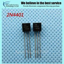 50 шт. бесплатная доставка 2N4401 TO-92 NPN Биполярных Транзисторов-БЮТ Gen Pur SS новый оригинальный(China (Mainland))