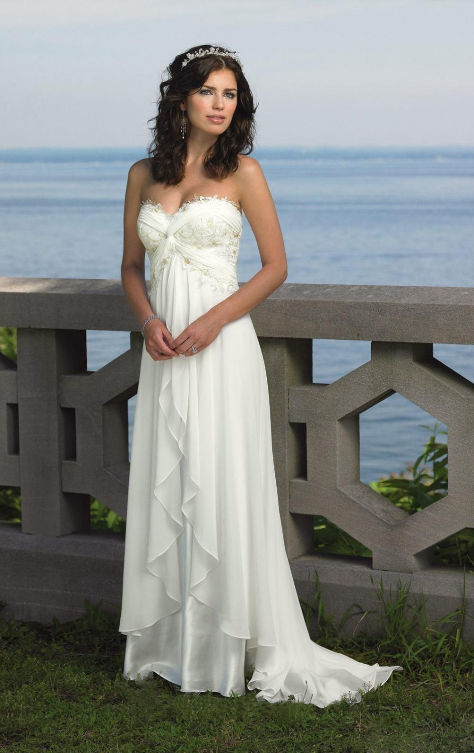 Popular White Empire Waist Gown-Buy Cheap White Empire Waist Gown ...