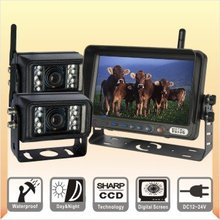 7 Inch Wireless Farm CCTV Security Rear View Back Up Camera System(China (Mainland))