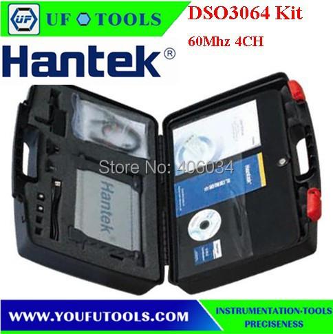 DSO3064 Kit III Automotive Diagnostic Oscilloscope PC USB Oscilloscope 4ch 60Mhz<br><br>Aliexpress