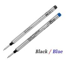 High quality MB Pen Refill rod cartridge roller Ball pen For mon ball pen core refill blanc ink recharge blanc blue color Caneta(China (Mainland))
