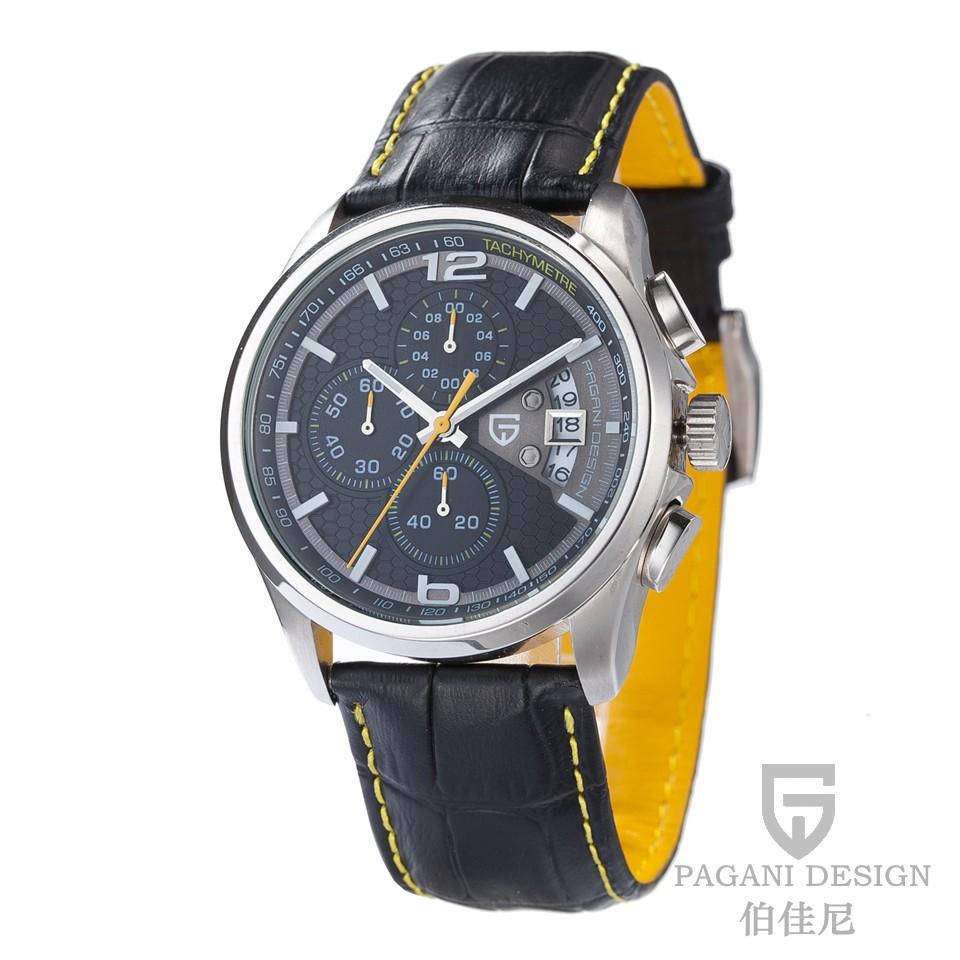 Фотография Pagani men watches top brand luxury Waterproof 30m quartz Men sport wristwatch Casual fashion watch relogio masculino New Pagani