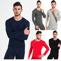 5 Different Colors Men s Winter Warm Comfortable Lightweight Pajamas Long Johns Top Bottom Thermal Underwear