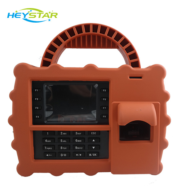 3G Optional+Long Standby Battery Mobile Finger Print Time Attendance HF-S990 Employee Time Clock RFID Attendance(China (Mainland))
