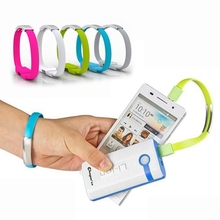 Micro USB Cable Bracelet Data Charging Line Wristband For Android Cellphone For iphone Model For Samsung Data cable Cz39