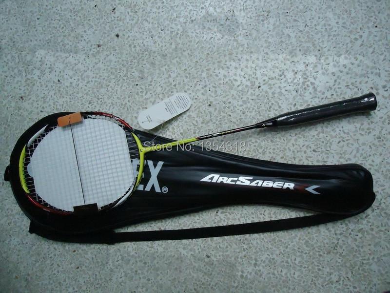 Wholesale Badminton Racket AR -ZS T-joint ArcSaber Z-SLASH Carbon Fibre Rackets yy badminton racquet racket(China (Mainland))