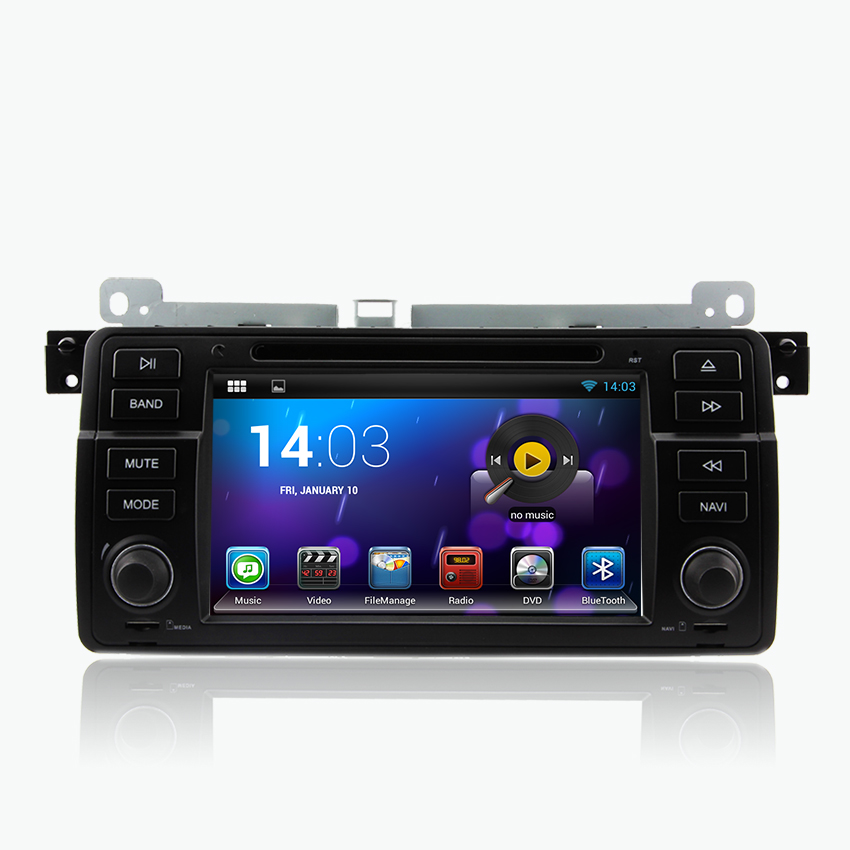 2015 Free Shipping 7 Inch Dual Core 800*480 2 Din Android 4.4 Car DVD Navigation For E46 M3 DVD Player With GPS Wifi For BMW(China (Mainland))