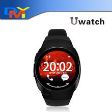 Оригинальный Uwatch ио Smartwatch для Iphone 5 6 6 S водонепроницаемый фитнес-ходовые смарт-bluetooth часы для Samsung android-ios телефон