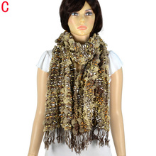 New design Winter scarf bubble shape warm women,8 colors, NL-1992(China (Mainland))