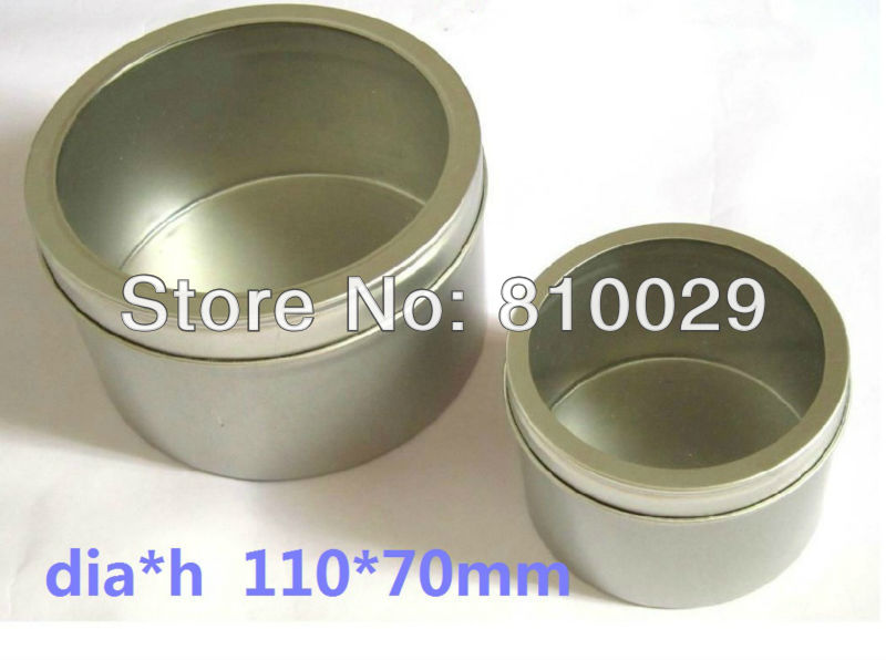 144pcs/Lot Window Iron Candle Holder Tin Can Metal Box Candlestick Candle Stand Hand Craft Candle Case Can Storage Pacakging(China (Mainland))