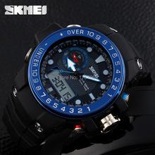 2015 hombres deportes relojes nueva skmei reloj 1063 LED Digital de cuarzo multifunción militar impermeable relojes de pulsera relogios masculino
