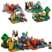 Buy JP World Minecraft 4 1 Building Blocks Bricks fun gifts Compatible lepin Toys Children for $31.00 in AliExpress store