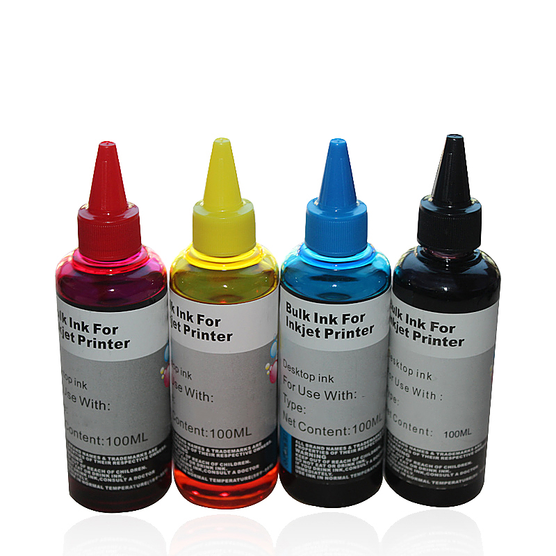 Applicable Epson L351L301L801L360L303L1300L310 / L351 / L353 / L358 / L551 4-color printer ink refilling ink filling(China (Mainland))