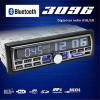New arrival free shipping car radio para auto with bluetooth car mp3 FM usb sd player 4X50W big output power for 1 din car audio