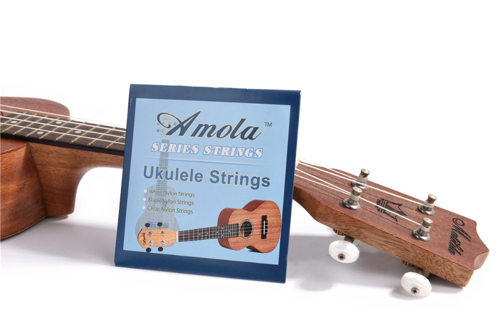 4 Saitige Ukulelen Saiten Nylon Clear Professional Uke 4 Strings Light String