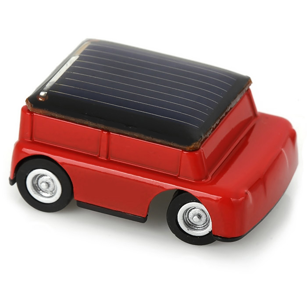 1 Pcs New Hot Solar Power Car Mini Toy Car Racer Educational Gadget Children Kids Toys(China (Mainland))