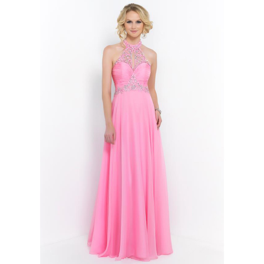 Online Buy Wholesale halter elegant pink evening gown from China ...