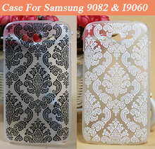 Vintage Paisley Flower Painted Case For Samsung Galaxy Grand Duos i9082 Grand Neo i9060 Phone Shell Bag For Samsung 9060 9082