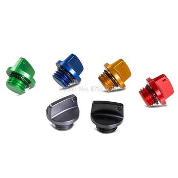 M20x2.5 CNC Billet Oil Filler Cap Plug For Honda/Yamaha/Kawasaki/Ducati/Triumph Motorbike Frames Decor