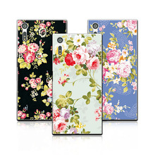 """Buy Luxury Floral Painted Case coque Sony Xperia XZ F8331 Dual F8332 Case Cover Art printed Flower funda Sony XZ 5.2""""+Gift for $1.35 in AliExpress store"""