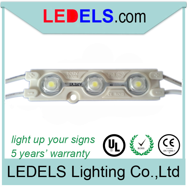 5years warranty ,CE ROHS approved,0.72w 12v 66lm backlight led light for signage<br><br>Aliexpress
