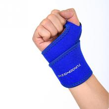 High Quality Arm Sleeve Chin-up Tape Bodybuilding Wristbands Sports Sponge Winding Wrist Protector for Men Women(China (Mainland))