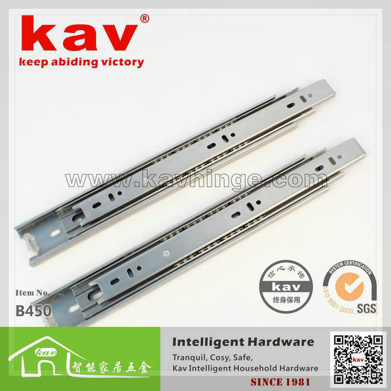produto  Manufacturers  kav brand 32 years back is not rusty rails 45 three sections wide stainless steel rails B450 faucet kitchen le