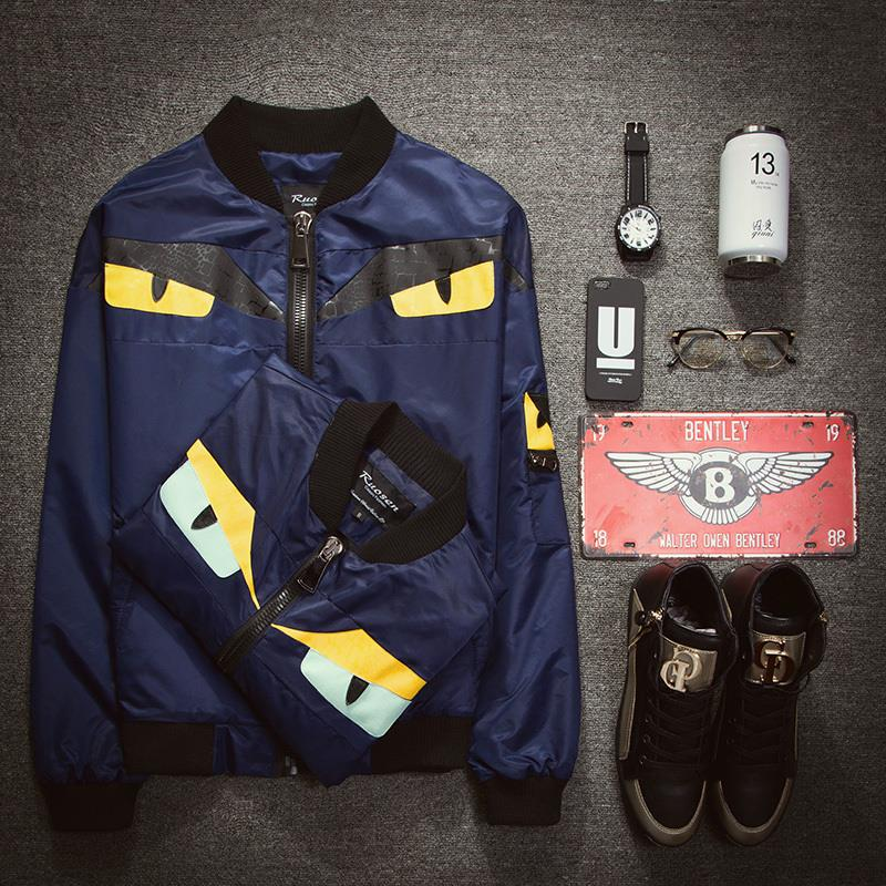 Jacket Casual Hip hop Brand Jacket Men Clothes Outdoor Baseball Coat Autumn Winter Harajuku Men Jackets