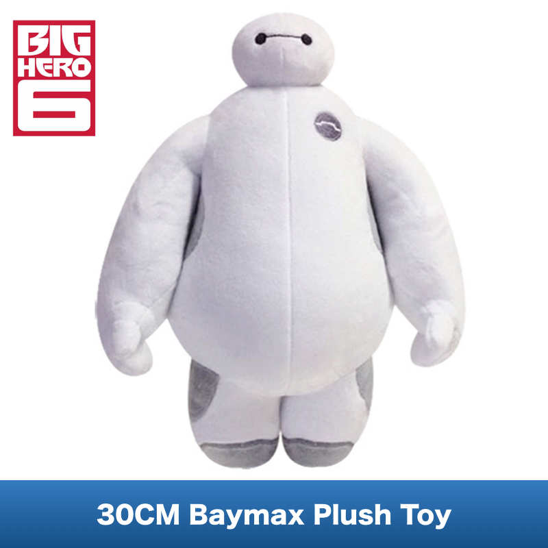 Гаджет  12 Inch 30cm Baymax Plush Doll of Movie Big Hero 6  Large Soft Baby Kids Toys Moveable For Children Christmas Gfit None Игрушки и Хобби