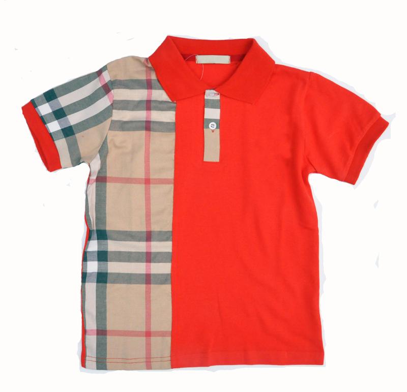 Boy Girl T Shirt Summer Red Dark Blue Children 39 S Kids T