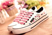 Ms big yards hand painted canvas shoes casual shoes