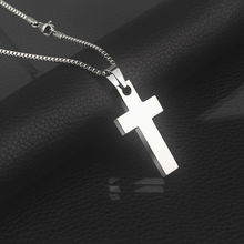 New Arrival Tungsten Carbide Cross Pendants with 2.0mm Thickness Titanium Steel Neckalce for Man/Woman Free Engrave Letters(China (Mainland))