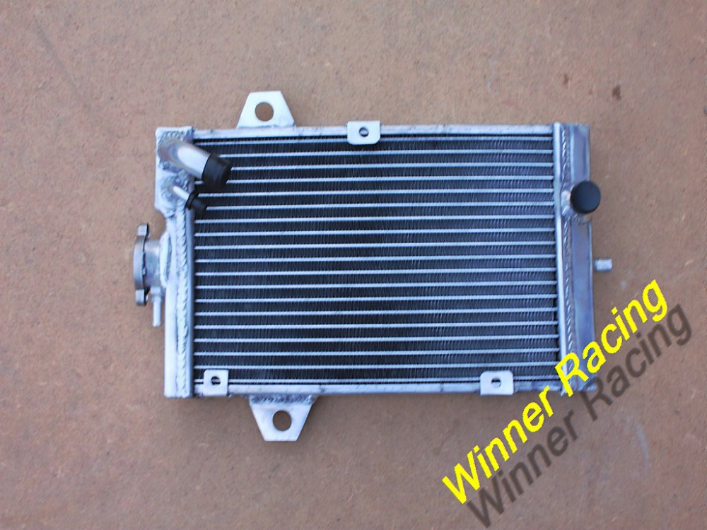 Купить ATV Частей аксессуары Алюминиевый Радиатор Для Yamaha Raptor YFM 700 R YFM700R 2006-2011 охлаждения двигателя части