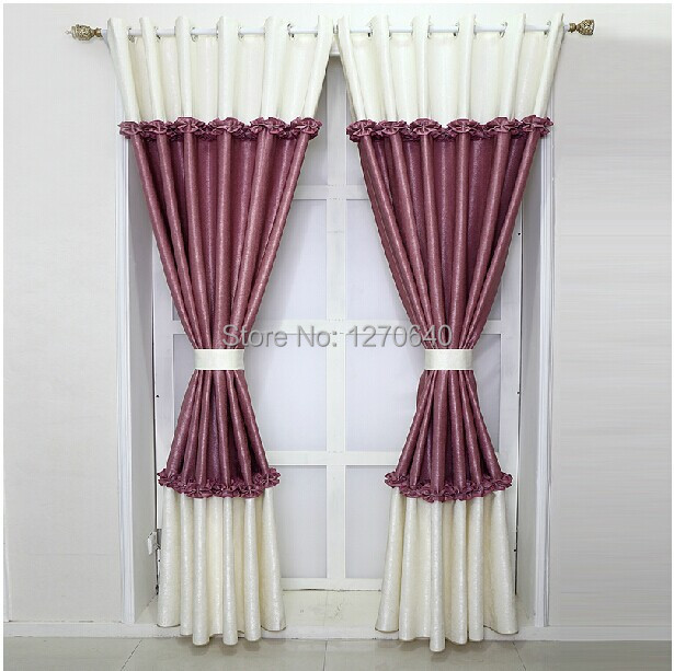 Luxury finished unique curtains for living room elegant for Cortinas elegantes para sala