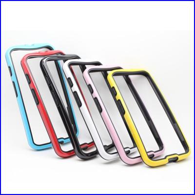 # Dual-color Design Frame Bumper Soft TPU Protective Case Cover Motorola Moto X Phone - rafael wan's store
