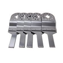5 pcs Oscillating tools 10mm Stainless steel SS straight Saw Blades for TCH etc Multimaster power tool