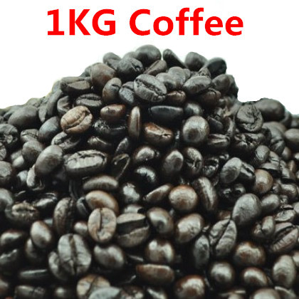 1KG High quality Vietnam Coffee Beans Original Baking charcoal roasted Organic food Vina green slimming coffee