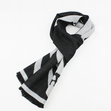 1pcs/lot Men commercial plaid cashmere scarf muffler male scarf autumn and winter thermal collars tassel free shipping