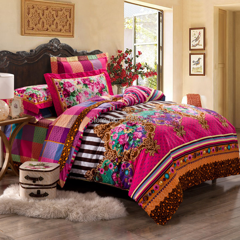 2015 Sale Comforter Luxury Bedding Set 4pcs Bedclothes Bed