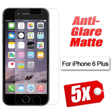 Free shipping Anti Glare Matte Screen Protector for Iphone 6 plus 5.5 inch LCD protective film with retail package
