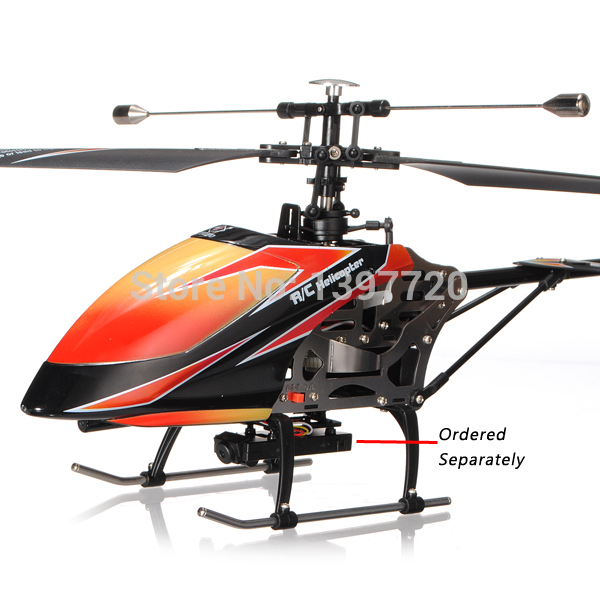 Wltoys Wl toys V912 4 Ch 2.4GH Brushless Large Single Blades Remote Control RC Helicopter with Videography Function Gyro RTF(China (Mainland))