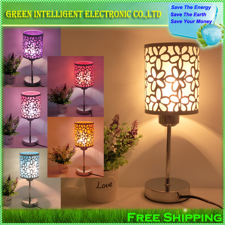 Modern Fashion Table Lamp Bedside Lamp,Bedroom Lamp,Free shipping and give a LED Bulb as a present!(China (Mainland))