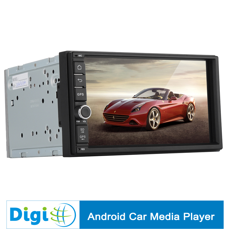 In stock! Universal Fitting 2 DIN Car Media Player 7 Inch Android 4.4 RK3066 1.6GHz CPU 3G Bluetooth Wi-Fi GPS 1GB RAM(China (Mainland))