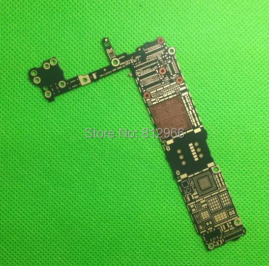 HK free ship,20pcs/lot, New Motherboard Main Logic Bare Board For iPhone 6 6G 4.7inch Replacement Part for test,(China (Mainland))