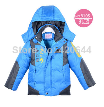 2014Children kids /boys winter Outdoor jacket sports teenage clothes Windproof breathable boy winter coat Free Shipping(China (Mainland))