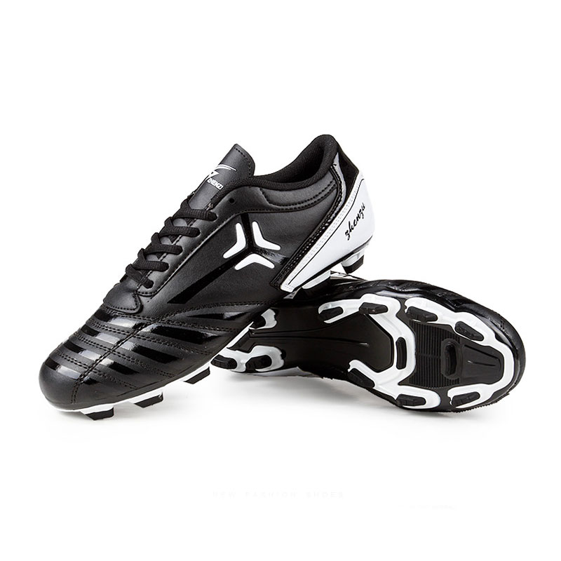 Cheap New Mens Superfly Football Boots Black FG Soccer Shoes Cleats Botines De Futbol Outdoor Sports Shoes(China (Mainland))