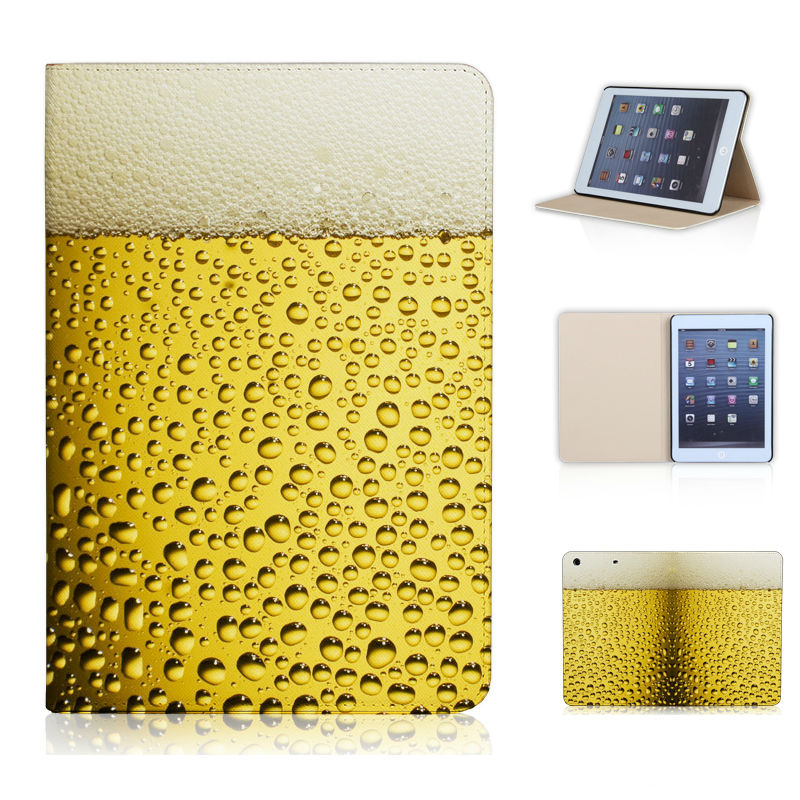 Bear Bubble Mini Case Cold Bear Premium Lager Bear Case Cover For ipad mini 1/2/3 With Magnetic Sleep Wake Up Mode