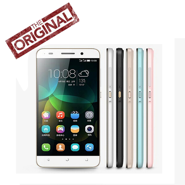 Gold stock 100% Original Huawei Honor 4C Cell phone Android 4.4 Kirin 620 Octa Core 2G RAM 8G ROM 5.0'' LTPS 13Mp Dual SIM(China (Mainland))